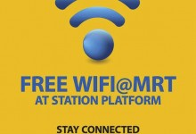 First three MRT stations to come online with free Wi-Fi in Singapore