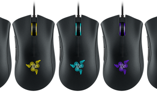 Razer's DeathAdder Chroma mouse sports 10,000 dpi sensor, lighting effects