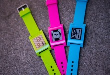 Pebble adds neon colours to new smartwatch series