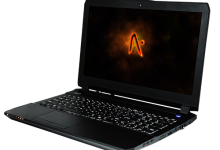Aftershock S-15 custom gaming notebook packs serious power