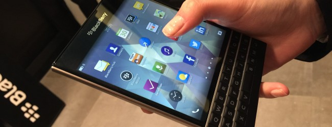 Hands on: BlackBerry Passport