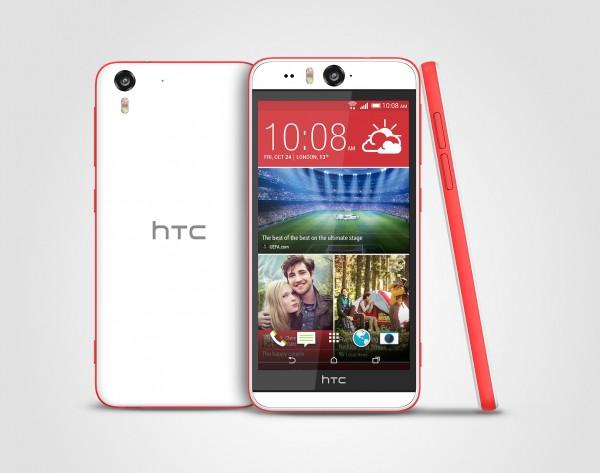 HTC Desire Eye Matt White Stack 300 dpi