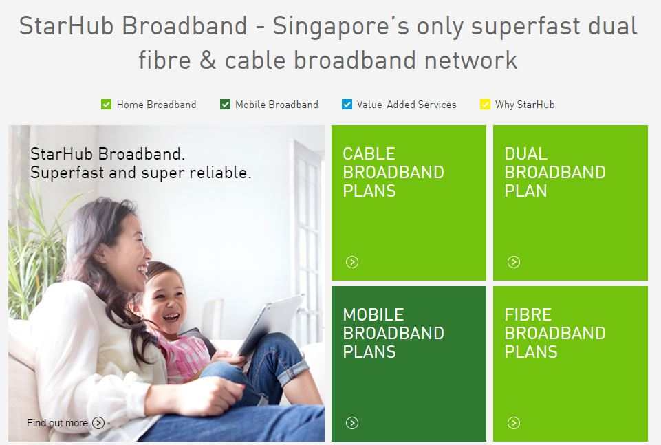 nice starhub home broadband plan. StarHub offers cable modem link as backup in 1Gbps fibre plan  Techgoondu