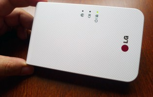 Hands on: LG Pocket Photo 2 PD239