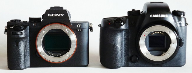 Battle of the mirrorless cameras: Sony Alpha 7 Mark 2 and Samsung NX1