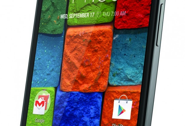 Moto X turns up in Singapore, only in black