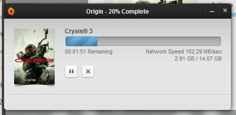 100MB per sec download