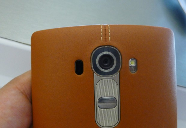 Hands on: LG G4 sticks to formula but glams up with leather cover