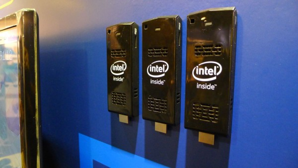 Intel Compute Stick shown in Penang, where most of the work on the miniature PC was based on.