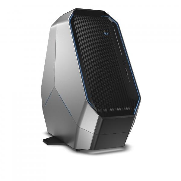 Alienware Area-51 (codename Centauri) desktop gaming computer with foot.