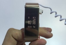 Hands-on: Huawei TalkBand B2 is not just a watch and activity tracker
