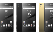 Sony brings Xperia Z5, plus compact and 4K versions, to Singapore from October