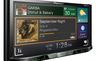 Pioneer debuts in-car receiver, supports high-res audio