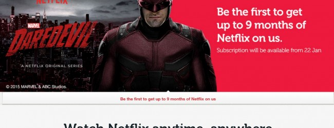Singtel throws in free Netflix subscriptions