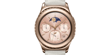 Samsung's Gear S2 smartwatch in rose gold and platinum out in Singapore
