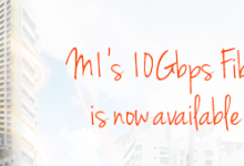 M1 offers 10Gbps home fibre broadband, matches Singtel for price