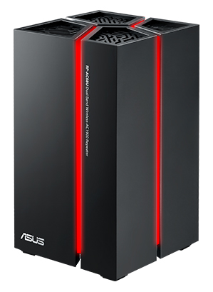 ASUS RP-AC68U dual-band wireless AC1900 repeater_side_Glow