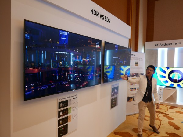 sony tv hdr. sony bravia tv launch 2016 03 tv hdr