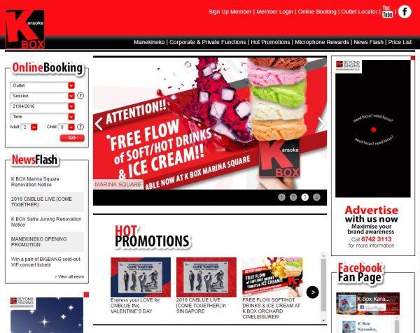 k box website