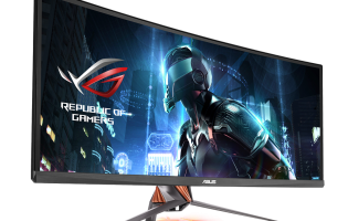 "Asus' Swift PG348Q curved monitor promises ""panoramic gaming"""