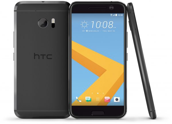 HTC 10 in Carbon Grey. Source: Handout.