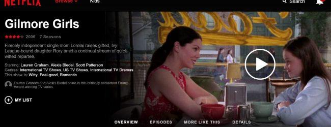 Gilmore Girls debuts in HD glory on Netflix