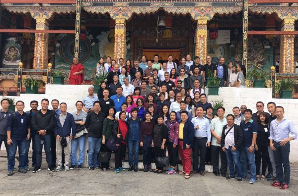 Gathering of CIOs at the ConnectGov conference in Bhutan in July. Photo: Handout.