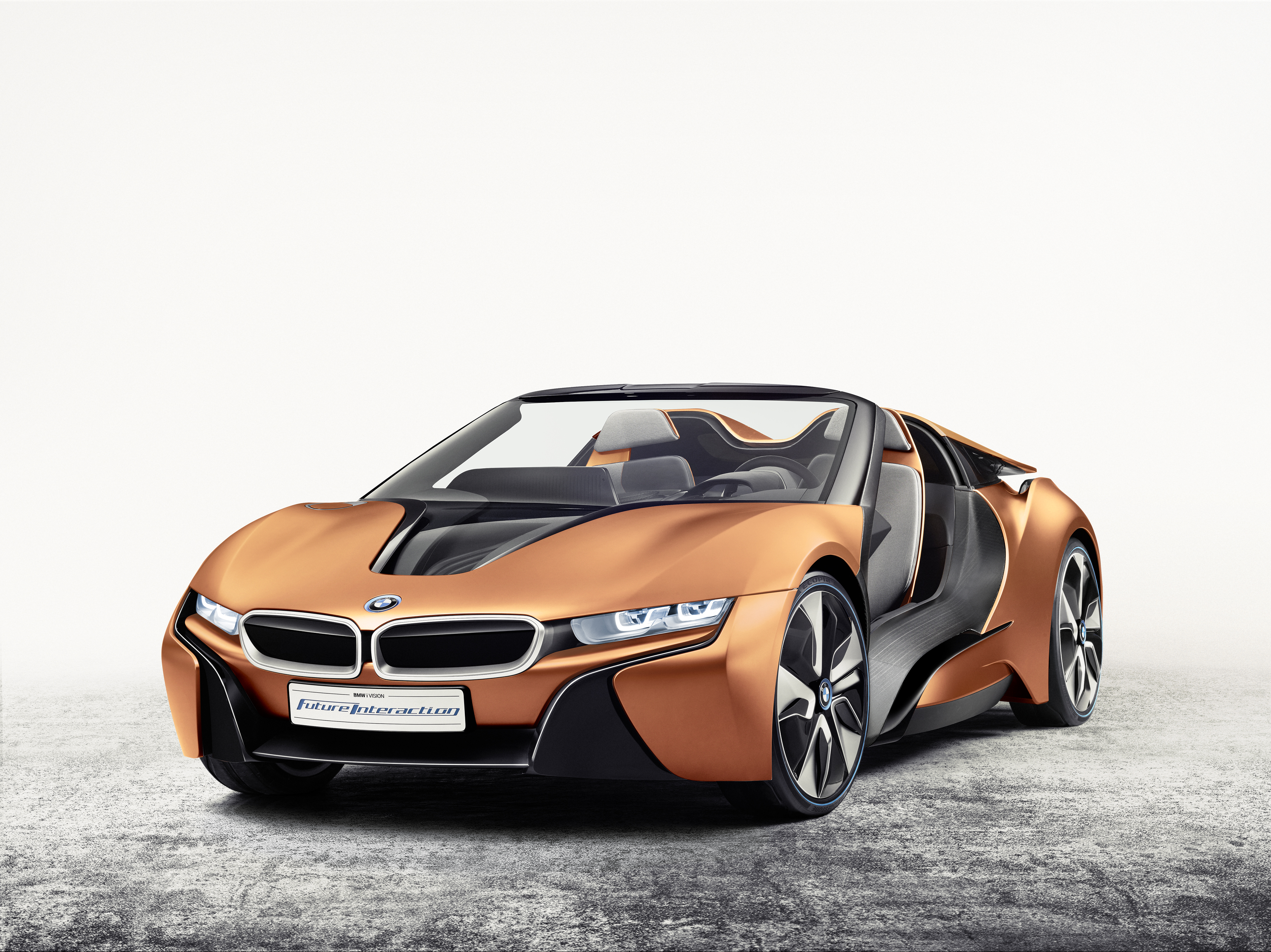 Hands On Bmw Self Driving Concept Car Available For Viewing In