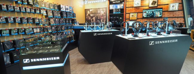 Loan a pair of Sennheiser headphones to try out at revamped Marina Square outlet