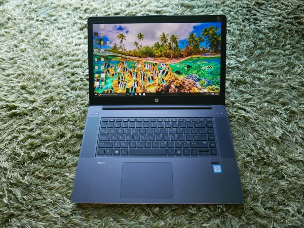 HP's ZBook Studio G3 looks sleek but has the computing power that few offer. PHOTO: Alfred Siew