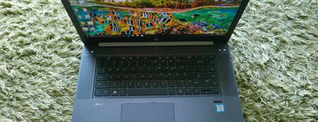 Goondu review: HP ZBook Studio G3