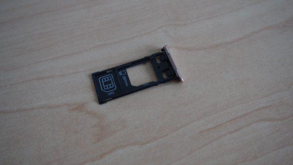 The combo SIM/microSD tray. PHOTO: Desmond Koh