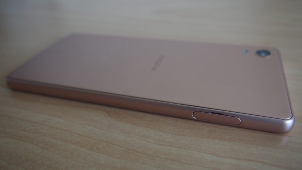 Left side of the phone, with the SIM tray hidden behind an easily-opened flap. PHOTO: Desmond Koh