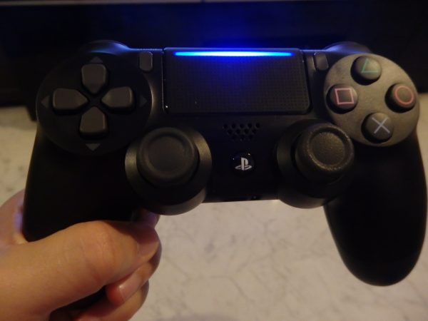 You light up my life - the new PS4 controller features a pretty light strip on the touchpad.