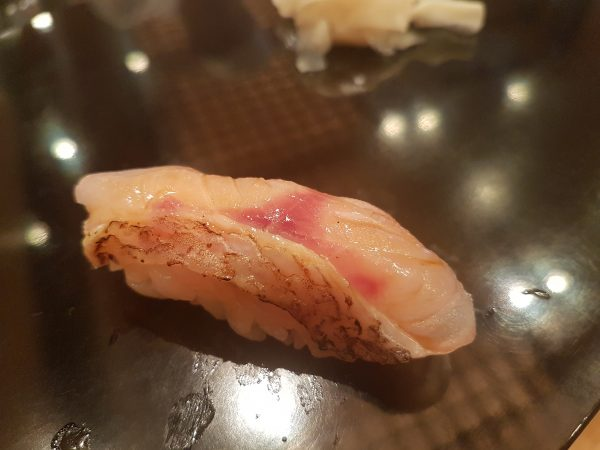 Sushi at Kyubei at Shinjuku. PHOTO: Alfred Siew