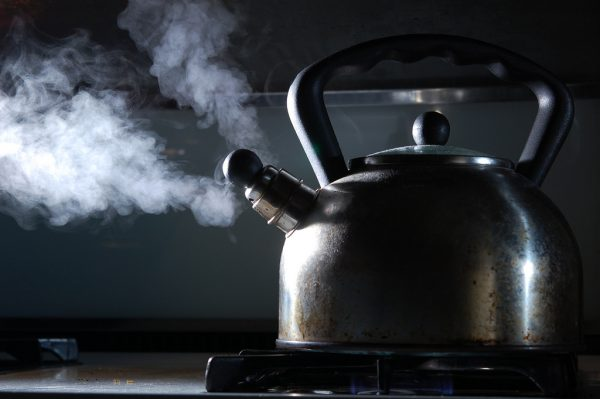 A good old kettle can't be hacked, but a connected one could offer a loophole to a Wi-Fi network. PHOTO: Vélocia (Creative Commons)