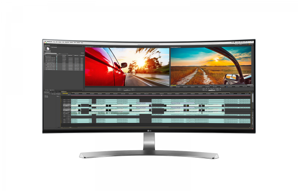 LG's 34UC98 PC monitor features an attractive curved screen. PHOTO: Handout