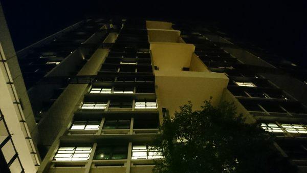 Very low light emphasises the graininess. PHOTO: Desmond Koh