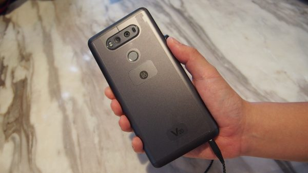 Rear of the V20. PHOTO: Desmond Koh