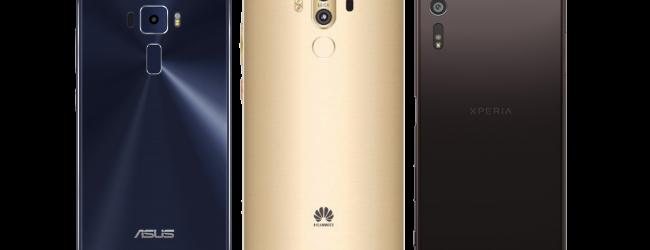 Smartphone camera shootout: Asus Zenfone 3, Sony Xperia XZ and Huawei Mate 9