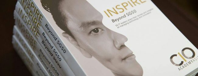 Inspire Beyond SG50 is a book by CIOs, for CIOs