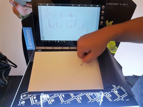 Yes, you can get your doctor's handwriting recorded digitally. PHOTO: Alfred Siew