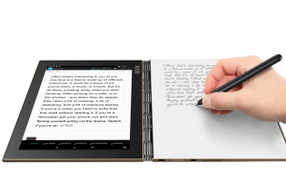 Hands on: Lenovo Yoga Book lets you scribble naturally