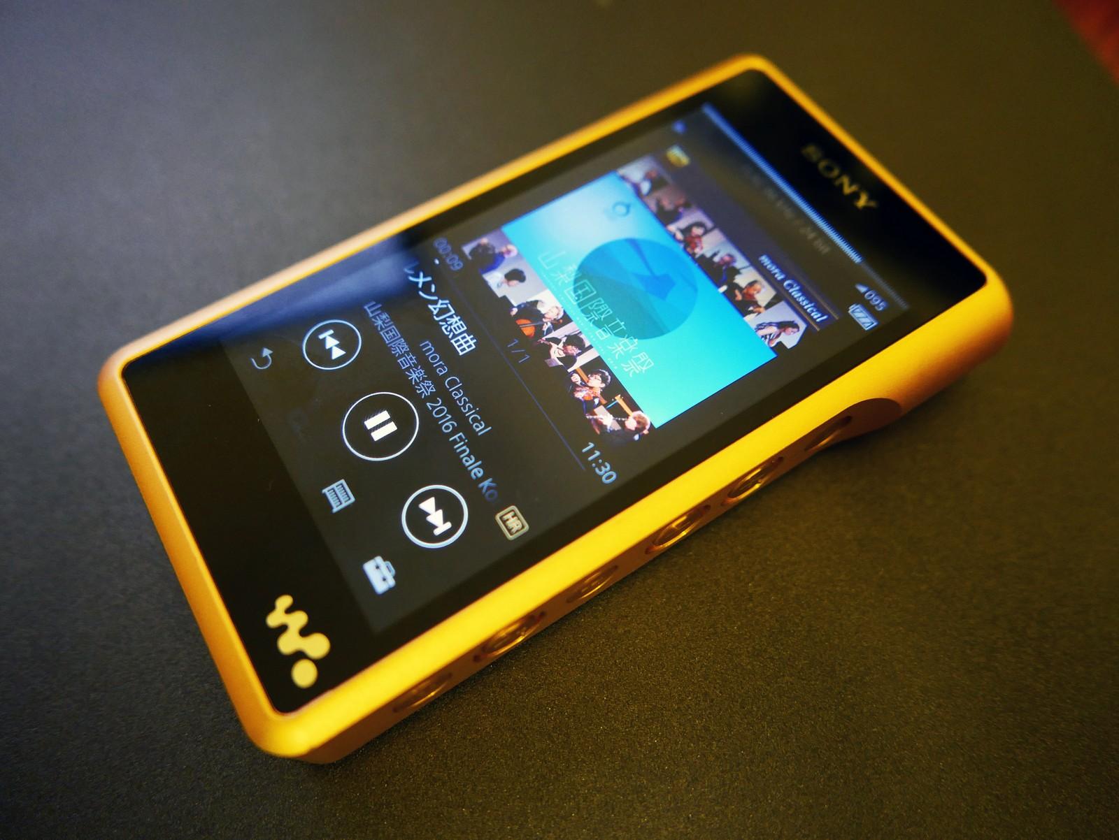 Goondu Review Sony Nw Wm1z Walkman Is Opulent Too
