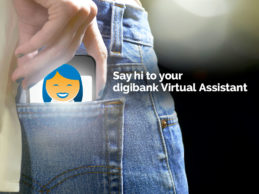 Chat with a virtual assistant when you have a question for POSB