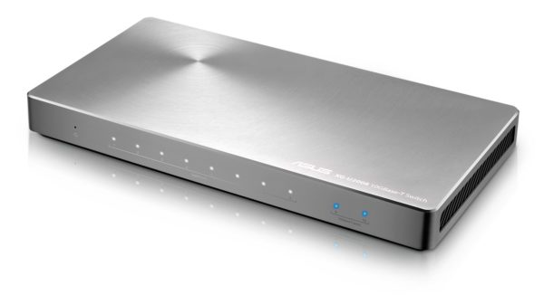 Asus XG-U2008 Switch Lets You Hook Up To 10Gbps At Home