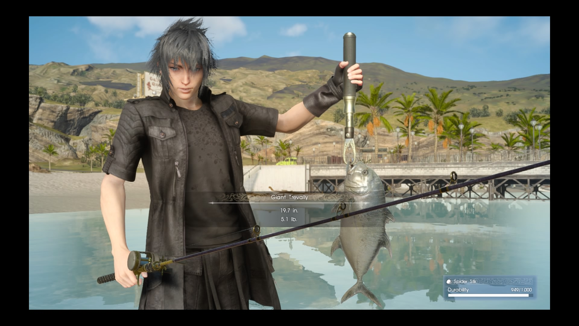 Goondu Review Final Fantasy Xv Techgoondu Deluxe Edition Region 3 Big Fun Minigames Fishing Is With A Wide Variety Fish To Catch Lures Use And Spots Find Screenshot Yap Hui Bin