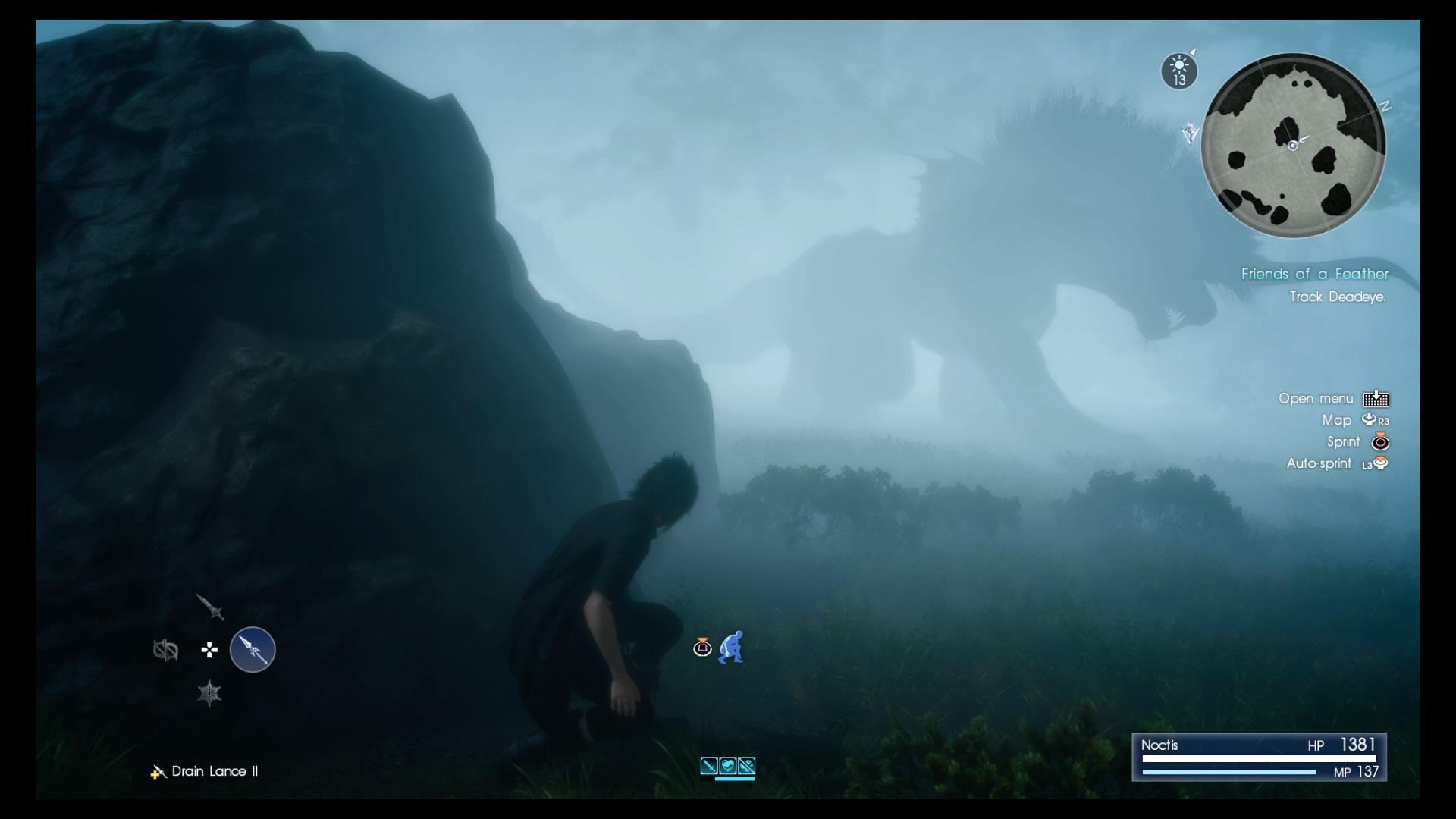 Goondu Review Final Fantasy Xv Techgoondu Deluxe Edition Region 3 Ffxvs Fantastic Beasts Makes One Stare In Awe Screenshot Yap Hui Bin