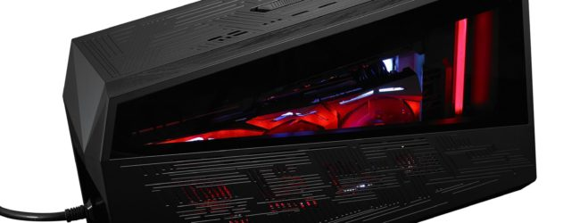 Asus' ROG XG Station 2 hooks laptops up to desktop graphics power