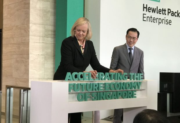 Hewlett-Packard Enterprise to invest US$140 million in innovation programme, help Singapore startups globalise
